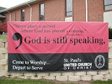 Don't place a period where God wants a comma!
